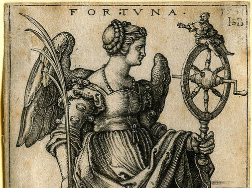 Fortuna - Hans Sebald Beham [CC BY 4.0 (http://creativecommons.org/licenses/by/4.0)], via Wikimedia Commons